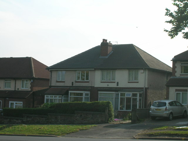 Houses on Prince of Wales Road, Sheffield