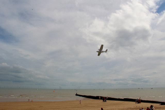 Catalina over Clacton, Essex