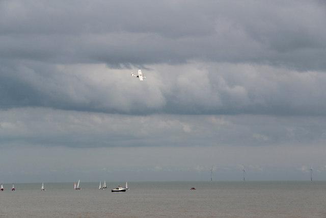Stormy Sky over Clacton, Essex