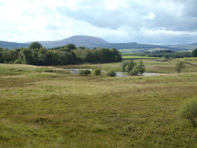 Lochan near Barnshalloch