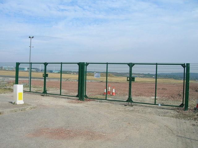 Entrance gates to regeneration area