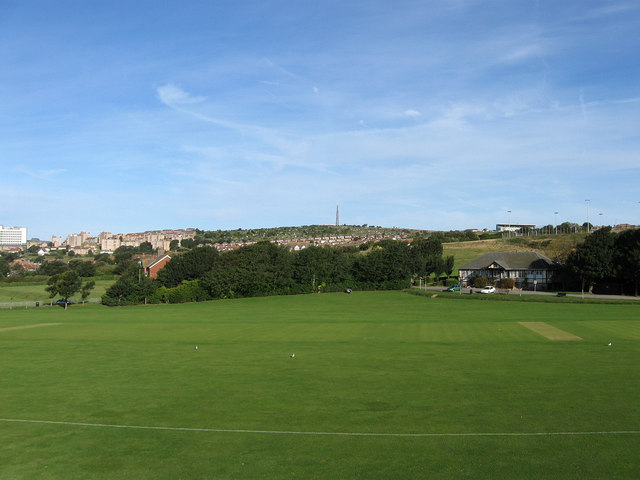 Cricket Pitch, East Brighton Park