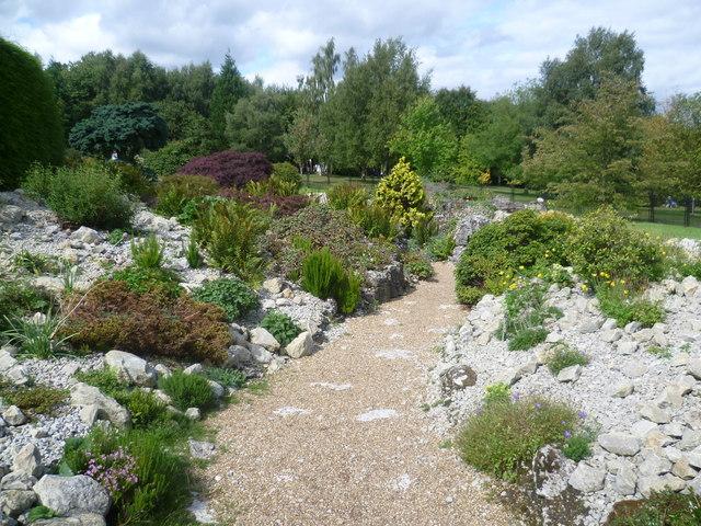 The Rock Garden at Emmetts