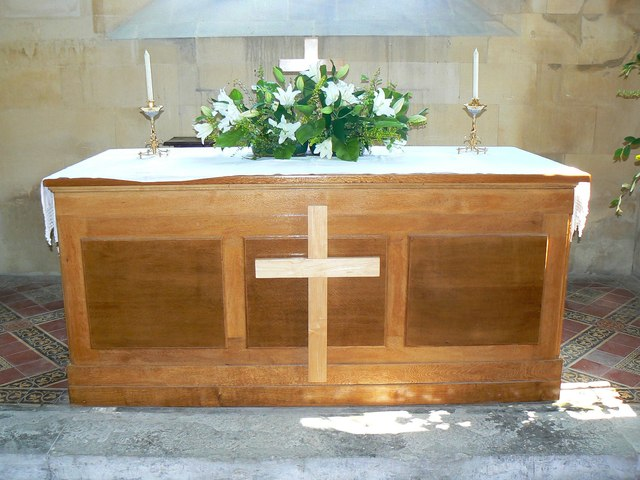 Altar, St Giles' Church, Imber