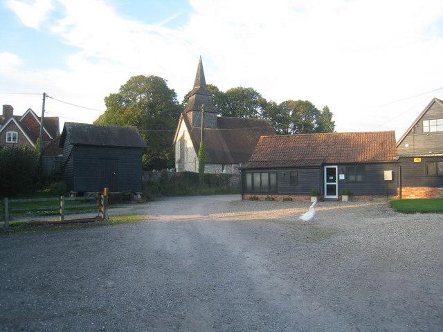 Hannington village church