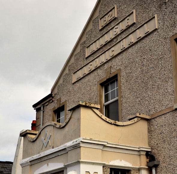 Masonic Hall, Millisle (detail)