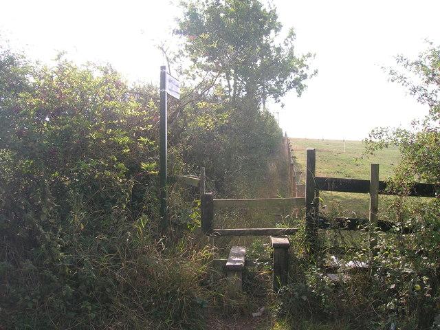 Footpath off Smallage Lane