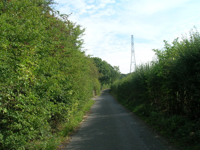 Smallage lane towards Aughton