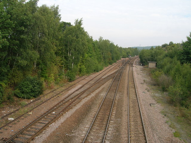 Railway towards Doncaster