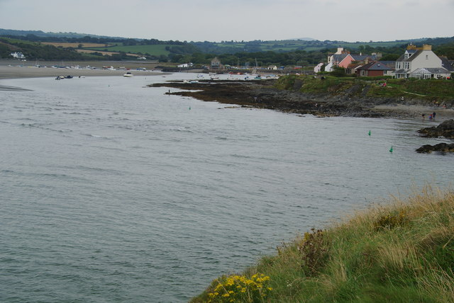 Afon Nyfer and Parrog from the coastal path