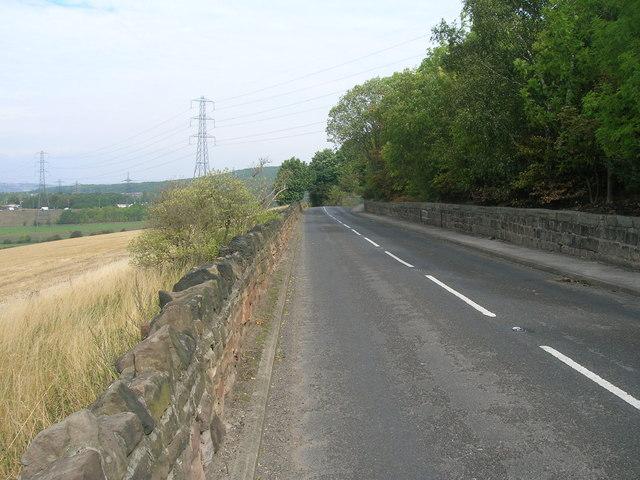 Bole Hill towards the A631