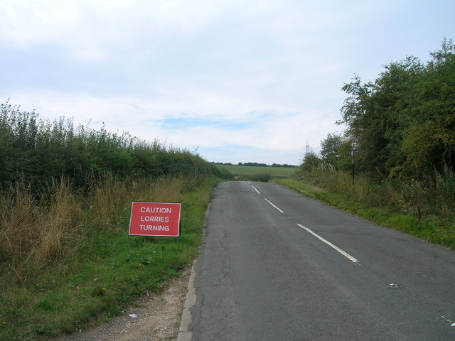 Long Lane towards Treeton