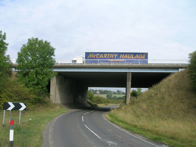 Motorway bridge over Long Lane