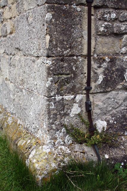 Benchmark on St Mary's Church