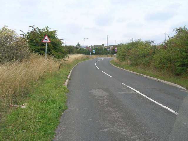 Long Lane towards the A631