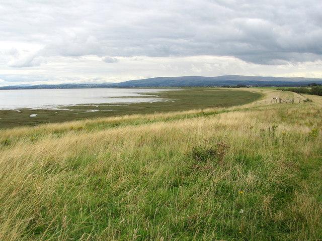 Looking East along Pilling Embankment