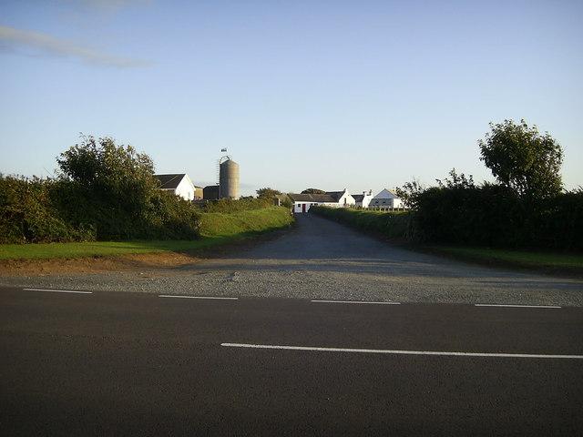 Track to Caermedris Farm
