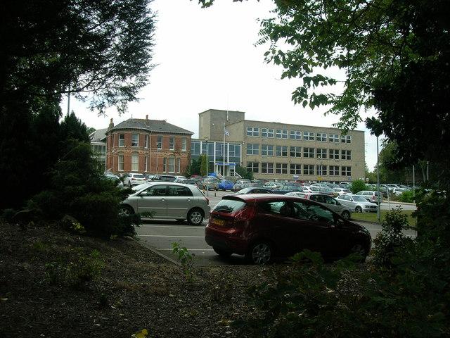 NHS building, Moorgate Road