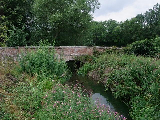 The River Soar beneath Stoney Bridge
