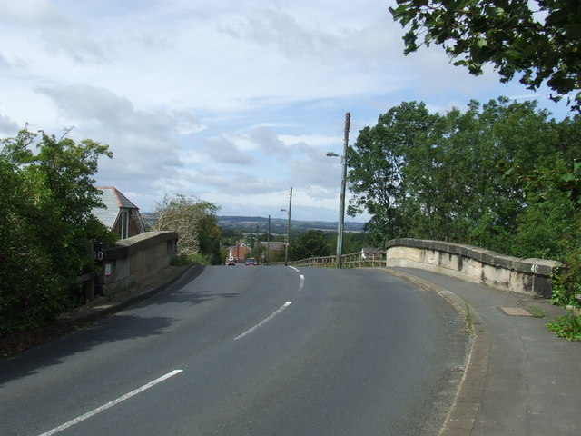 Station Road bridge, Leamside