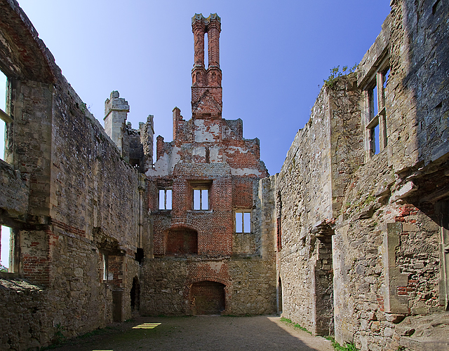 Titchfield Abbey (Place House) interior detail