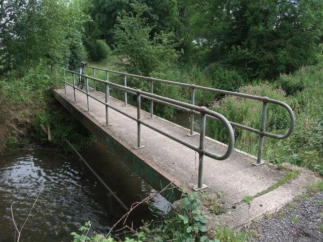 Footbridge over the River Soar