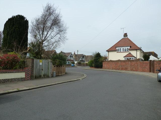 Bends in Nutbourne Road
