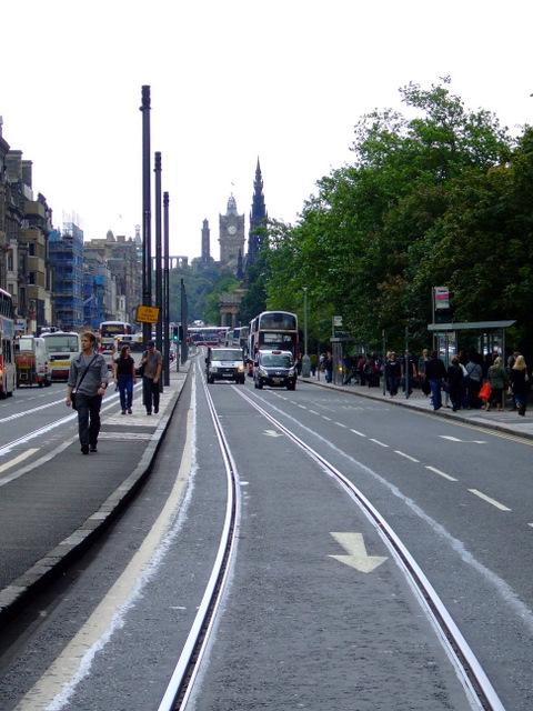 Edinburgh's new tram line