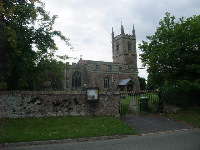 Church of St Nicholas, Frolesworth