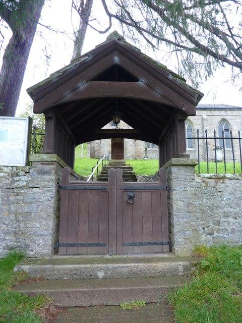 Holy Trinity Church, Feetham, Lych gate