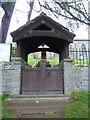 SD9898 : Holy Trinity Church, Feetham, Lych gate by Alexander P Kapp