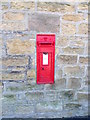 NZ2595 : Postbox, Widdrington by Miss Steel