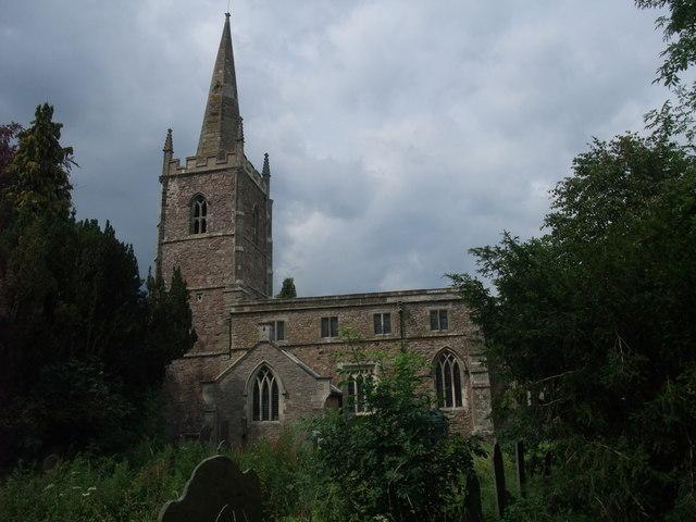 Church of All Saints, Dunton Bassett