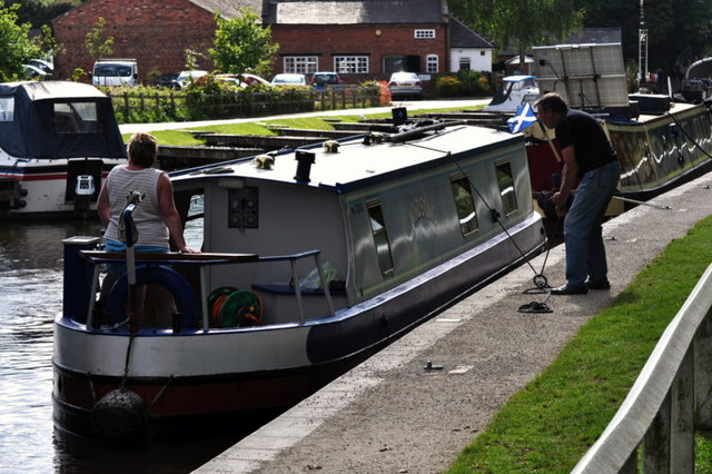 Securing a narrowboat