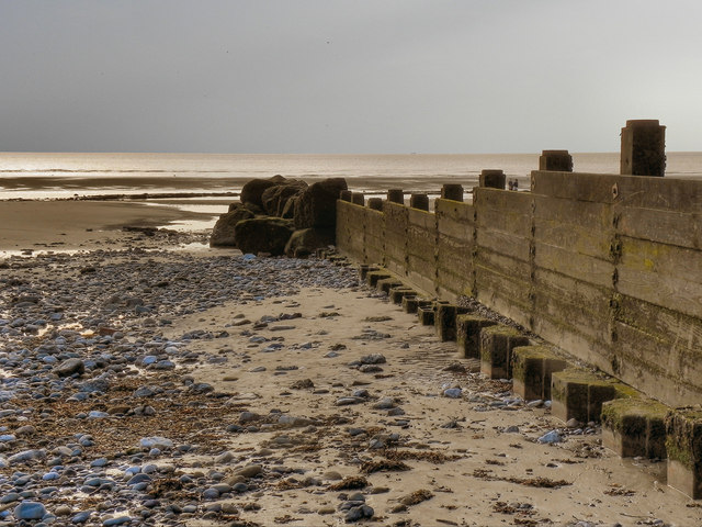 Groyne at Cleveleys
