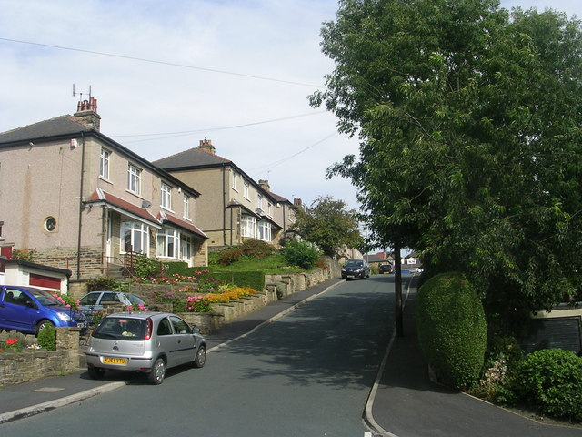 St Aidan's Road - viewed from Thornmead Road