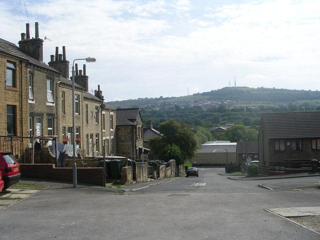 John Street - looking towards Otley Road