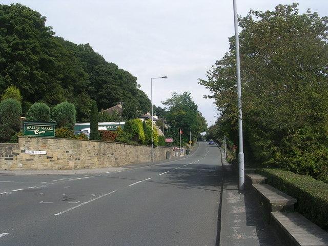 Baildon Road - viewed from Albert Street