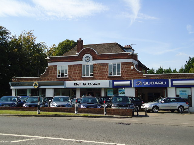 Bell and Colville car dealership, West Horsley