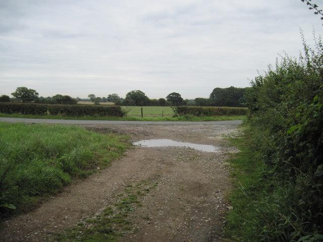 Road  Footpath  Junction
