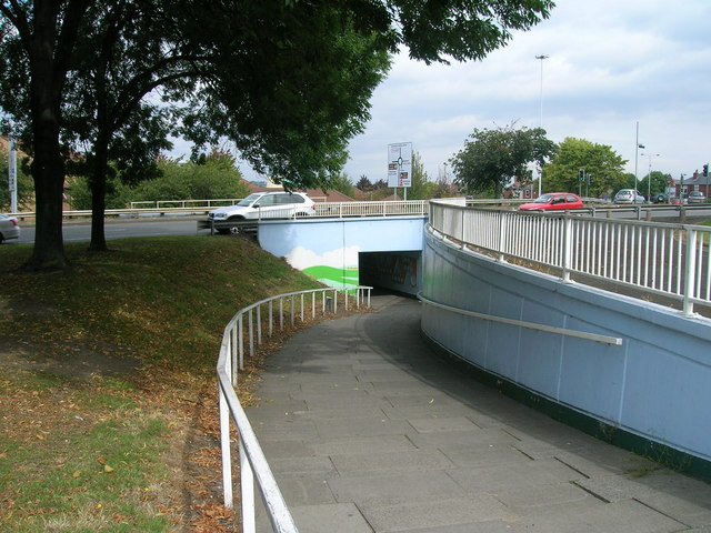 Path under the A630, Rotherham