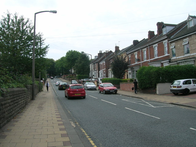 St Ann's Road, Rotherham