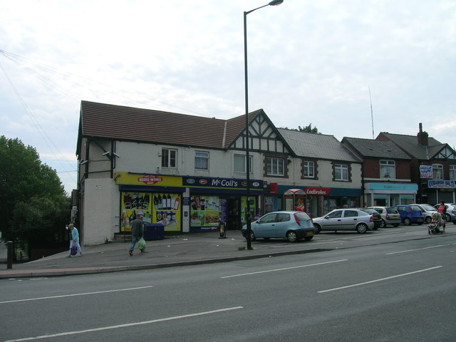 Shops on Doncaster Road