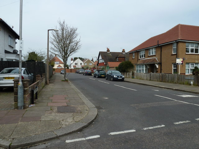 Looking from Bulkington Avenue into Nutbourne Road