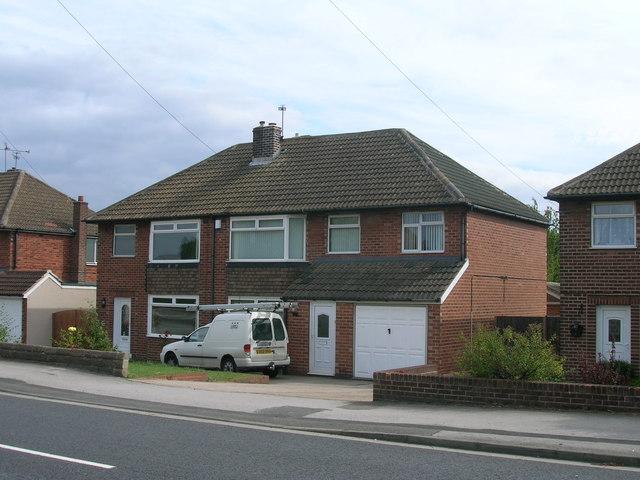 Houses on Braithwell Road