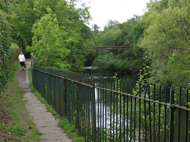 Bingley - bank of River Aire