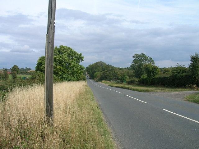 Common Lane heading east