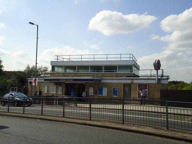 Northolt underground station