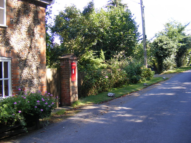 Cooks Hill, Letheringham & The Street Victorian Postbox