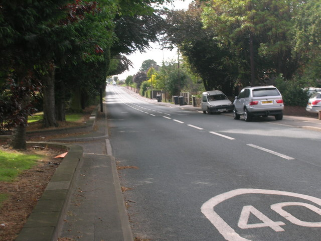 A630 towards Rotherham